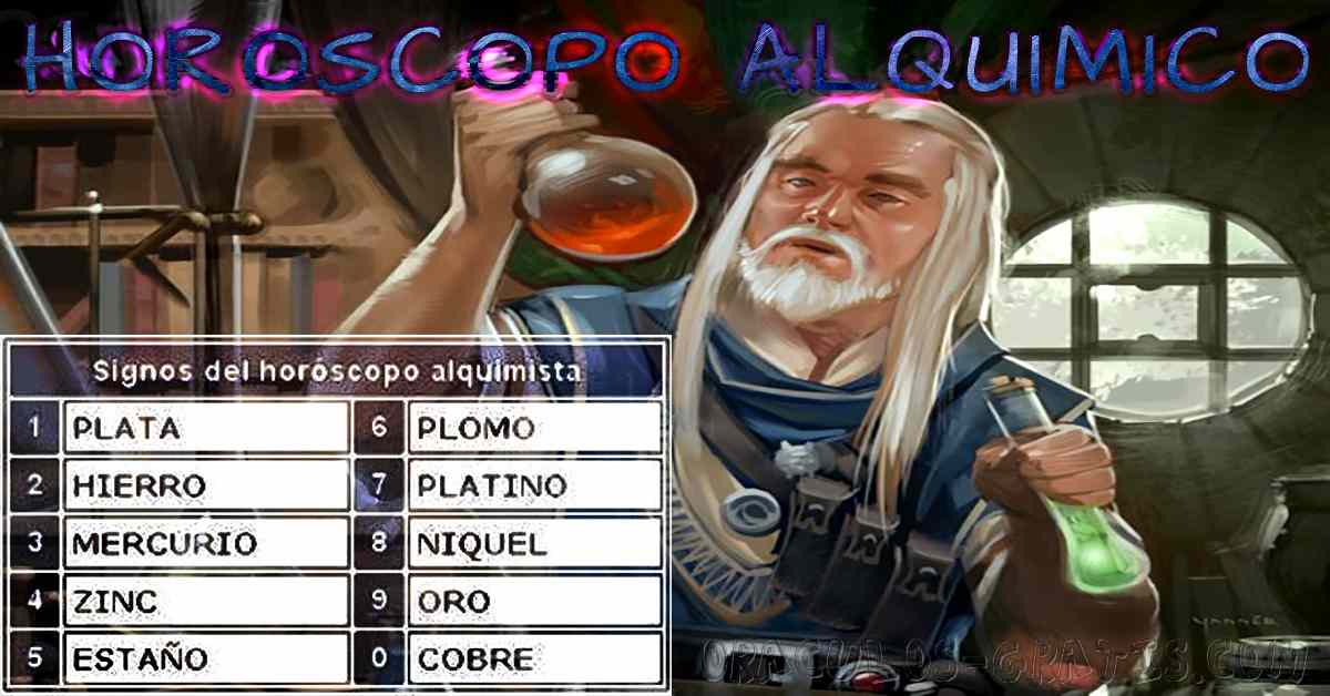 horoscopo alquimico
