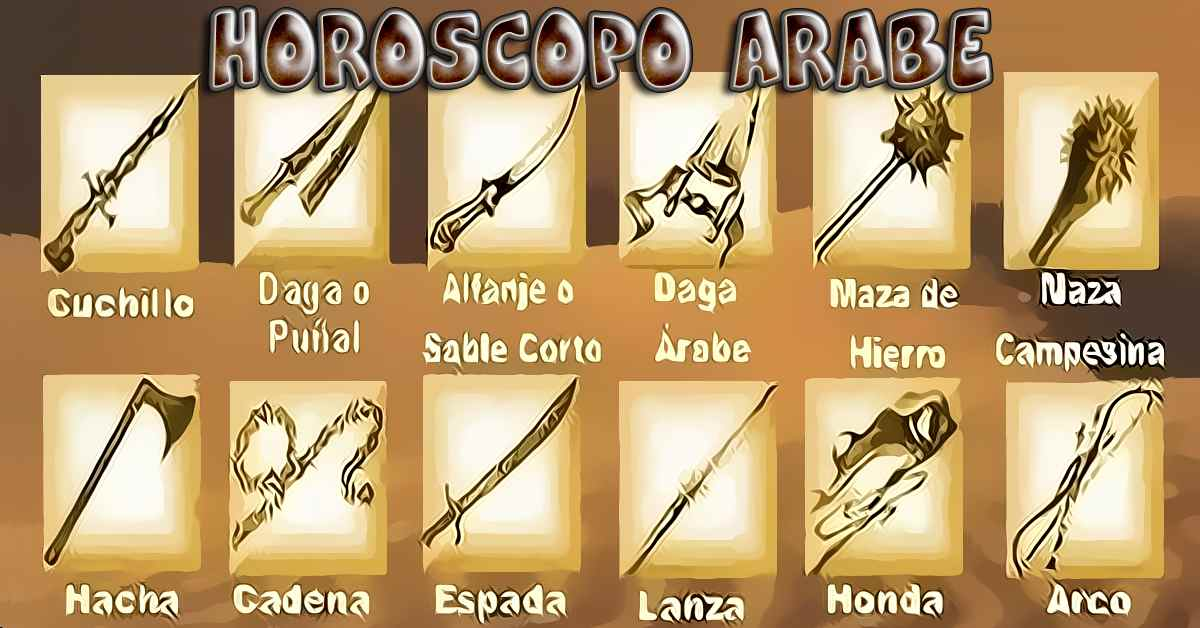 horoscopo arabe